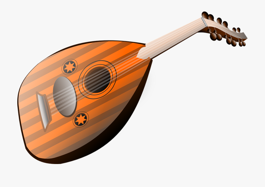 Free clipart images musical instruments. Mandolin instrument lute strings