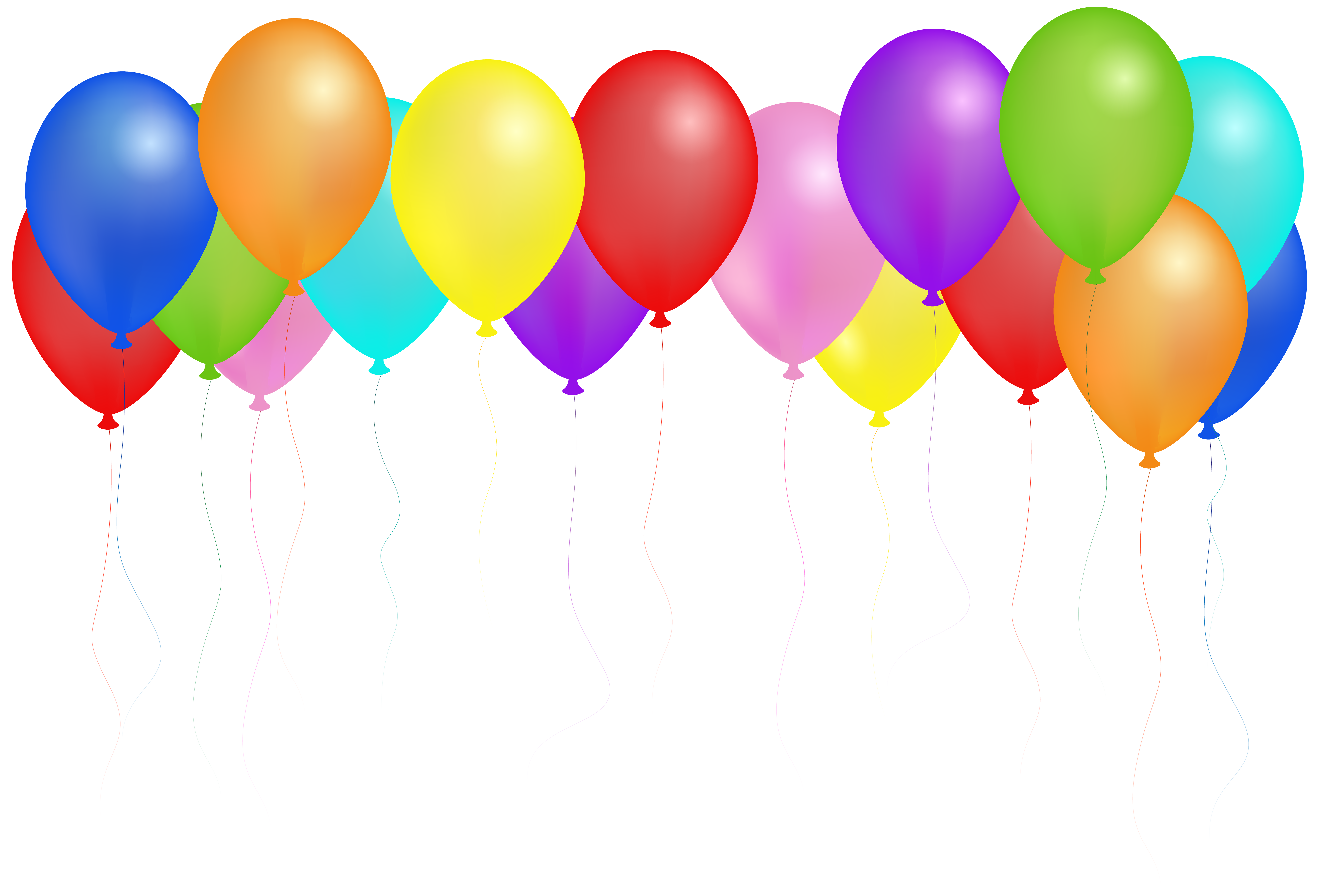 Free clipart images of balloons transparent library Balloons PNG Clip Art Image | Gallery Yopriceville - High-Quality ... transparent library