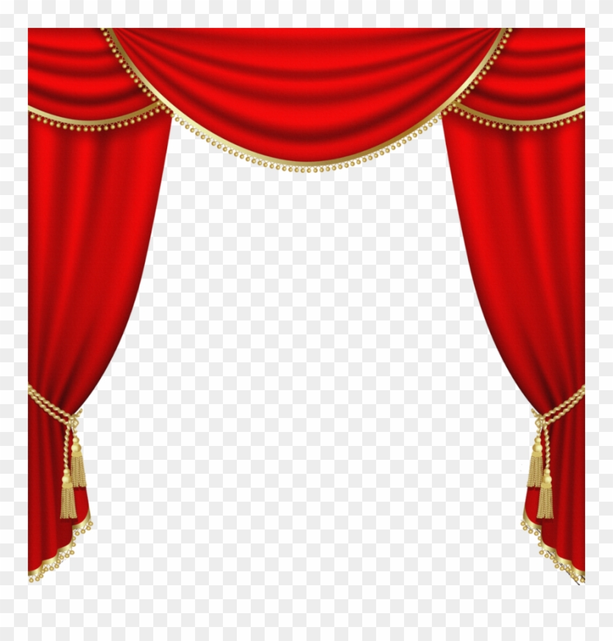 Free clipart images of drapery curtains black and white stock Download Red Curtain Png Clipart Curtain Clip Art Curtain - Theater ... black and white stock