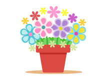 Free clipart images of flowers graphic black and white download Free Flowers Clipart - Clip Art Pictures - Graphics - Illustrations graphic black and white download