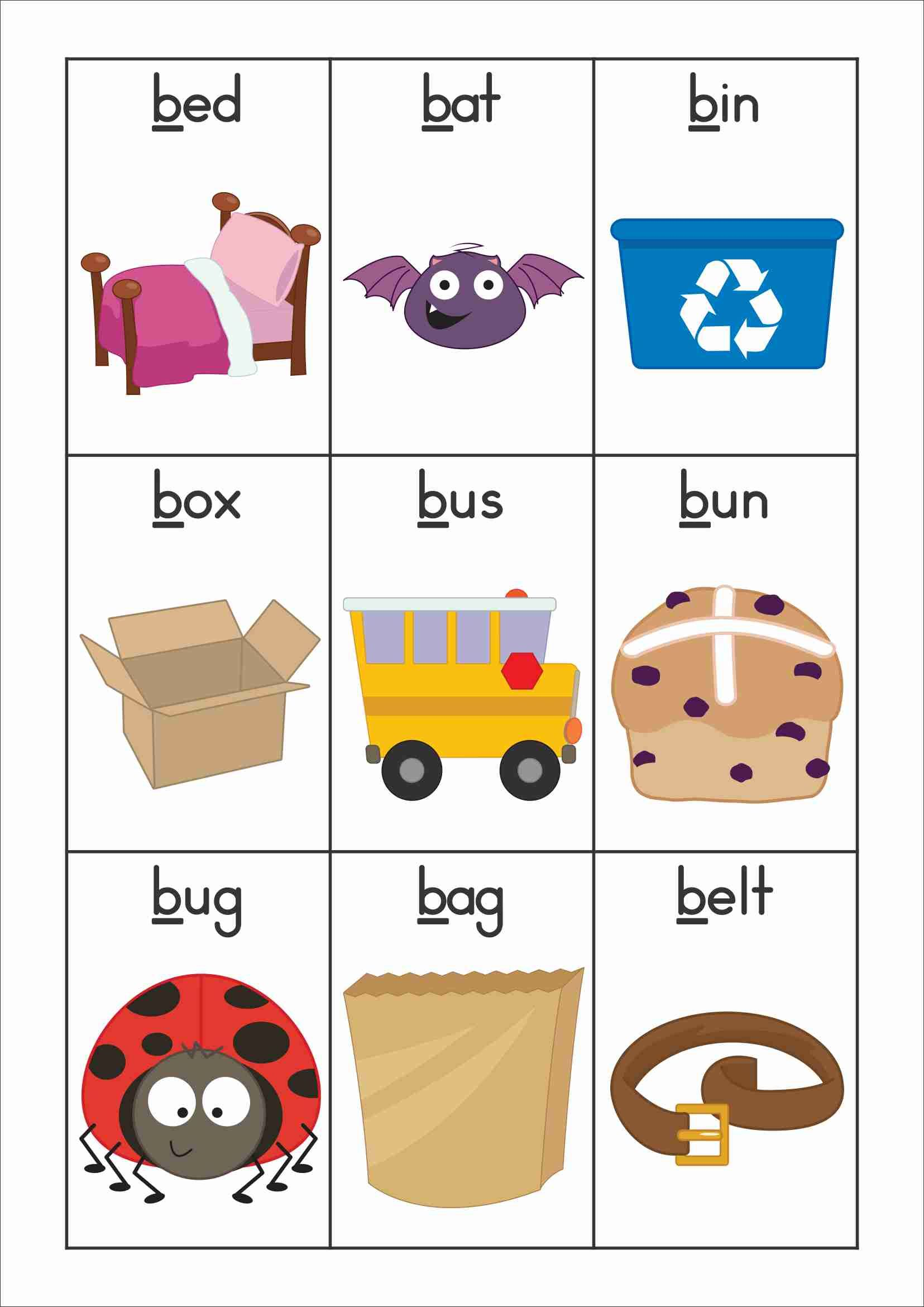 Free clipart images of prek letter wall picture stock FREE Back to School Alphabet Phonics Letter of the Week B | English ... picture stock