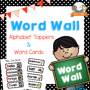 Free clipart images of prek letter wall image freeuse download How to Use a Word Wall image freeuse download