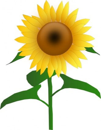 Free clipart images sunflowers banner black and white stock Free Sunflowers Cliparts, Download Free Clip Art, Free Clip Art on ... banner black and white stock
