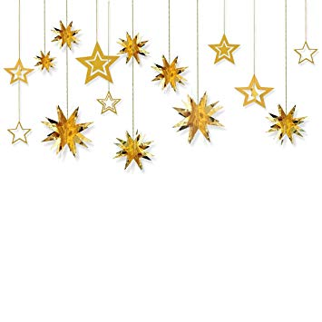 Free clipart images single hanging star from a string picture freeuse download Glitter Twinkle Star Hanging Garland - Sparkly Paper Five-pointed Bunting  Banner for Birthday Party, Baby Shower, Wedding, Festival Home Decoration,  ... picture freeuse download