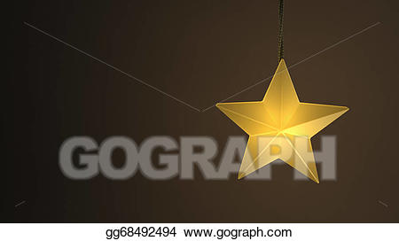Free clipart images single hanging star from a string vector free download Clip Art - Single yellow hanging star light over a dark background ... vector free download