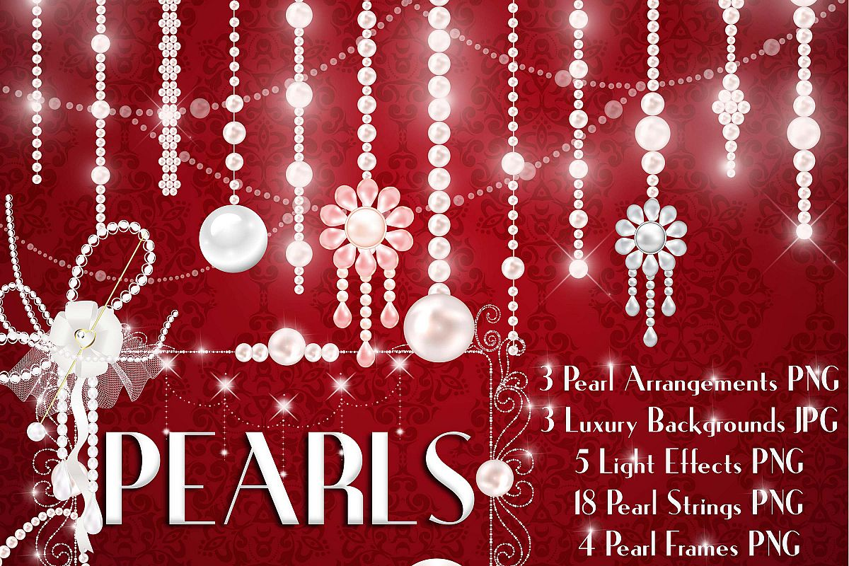 Free clipart images single hanging star from a string clipart library download Hanging Pearl Chain Pearl String Pearl Strand Pearl Clip Art clipart library download