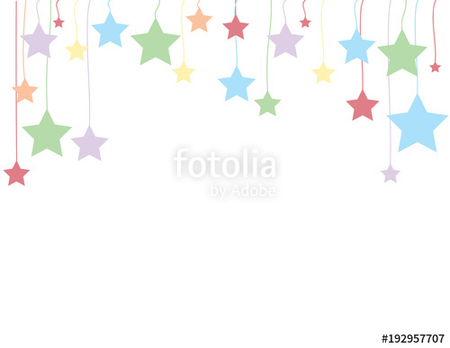 Free clipart images stars on a string svg royalty free stock Stars hanging from strings - Holiday background\
