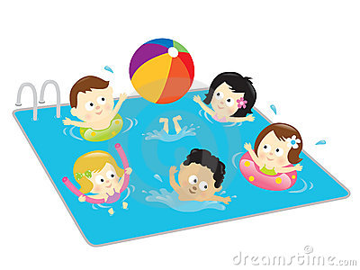 Swim in the pool clipart jpg freeuse Swimming Pool Clipart Group with 53+ items jpg freeuse
