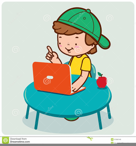 Free clipart images to use svg transparent Student Using Computer Clipart | Free Images at Clker.com - vector ... svg transparent
