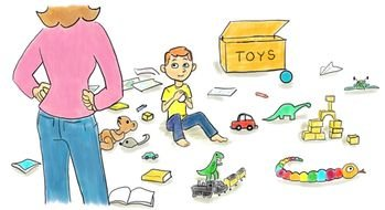 Free clipart images-children being messy with toys svg royalty free download Toys in Messy Bedroom images at pixy.org svg royalty free download