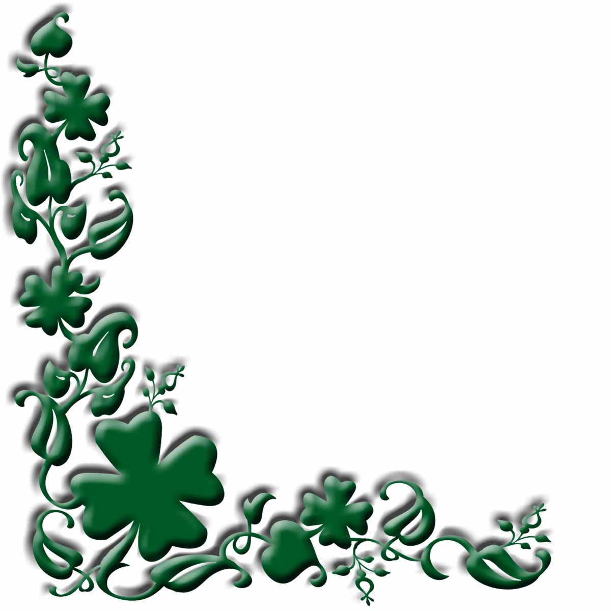 Shamrock frame clipart p clip black and white library Free Irish Cliparts, Download Free Clip Art, Free Clip Art on ... clip black and white library