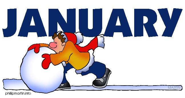 Free clipart january calendar. Salaharness org