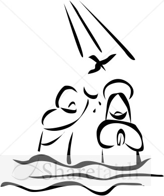 Free clipart jesus baptism vector black and white stock Collection of Baptism clipart | Free download best Baptism clipart ... vector black and white stock