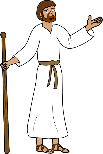 Free clipart jesus disciples black and white library Free Disciple Cliparts, Download Free Clip Art, Free Clip Art on ... black and white library