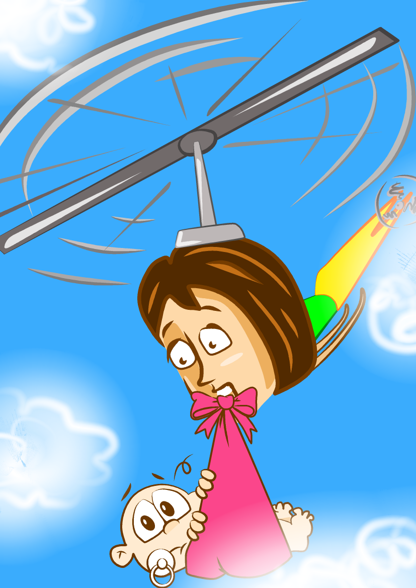 Free clipart kid fighting with parents. Theme helicopter vs range