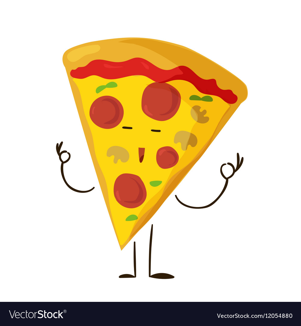 Free clipart kids funny slices of cheese. Fast food pizza slice