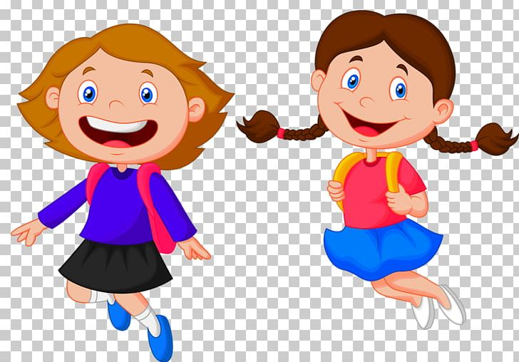Free clipart kids happy to go back to school image download Student School Child Cartoon PNG, Clipart, Back To School, Bag, Boy ... image download