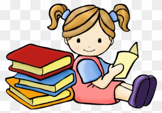 Free clipart kids reading sitting side by side picture freeuse library Shhh Clipart Girl Reading Book Clipart Free Download - Reading Books ... picture freeuse library