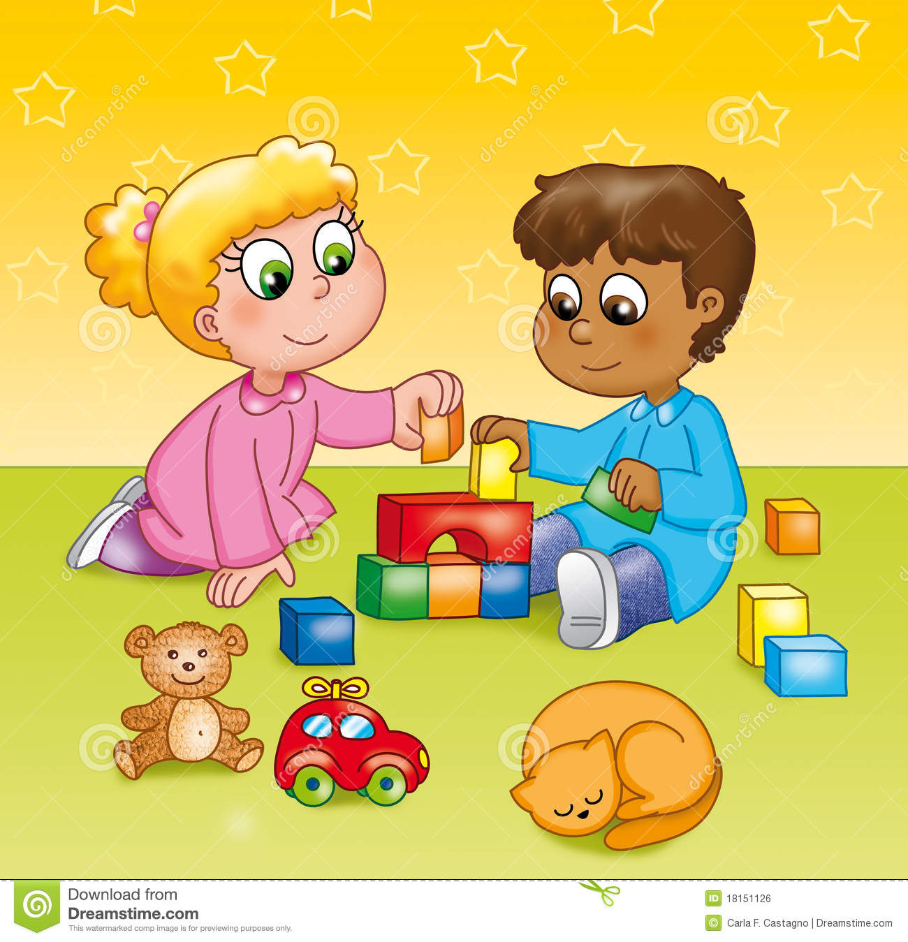 Free clipart kindergarten clipart freeuse library Playing Kindergarten Clipart - Clipart Kid clipart freeuse library