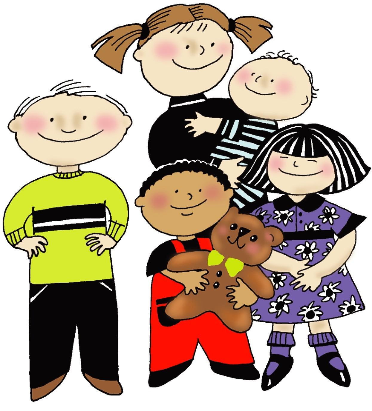 Free clipart kindergarten clip art free stock Kindergarten Kids Clipart | Clipart Panda - Free Clipart Images clip art free stock
