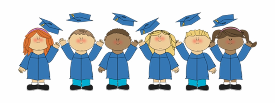 Free clipart kindergarten graduation clip art freeuse library Clipart Transparent Library Kids Graduation Clipart - Kindergarten ... clip art freeuse library