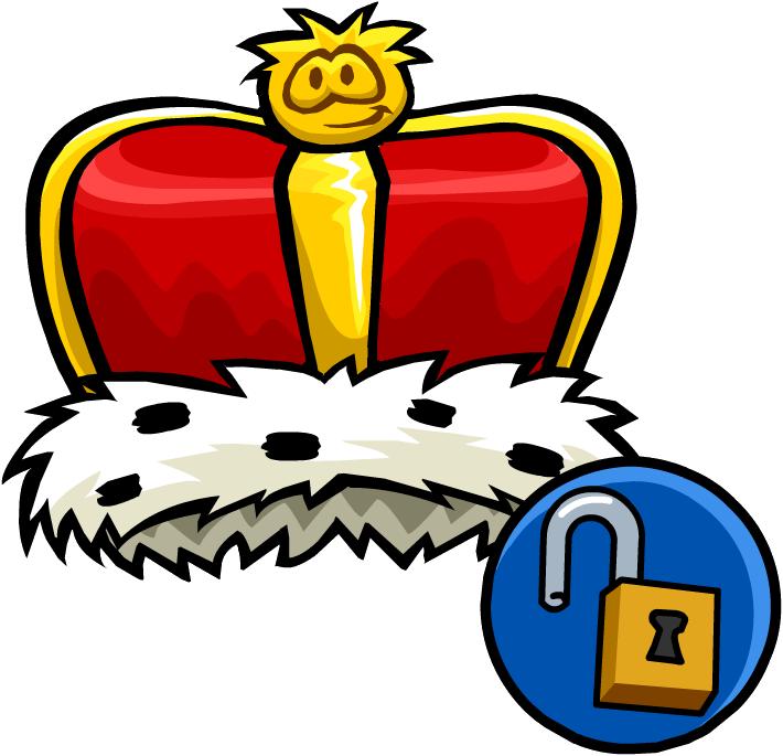 Free clipart king crown jpg transparent Image - King's Crown (Unlockable).png | Club Penguin Wiki | FANDOM ... jpg transparent