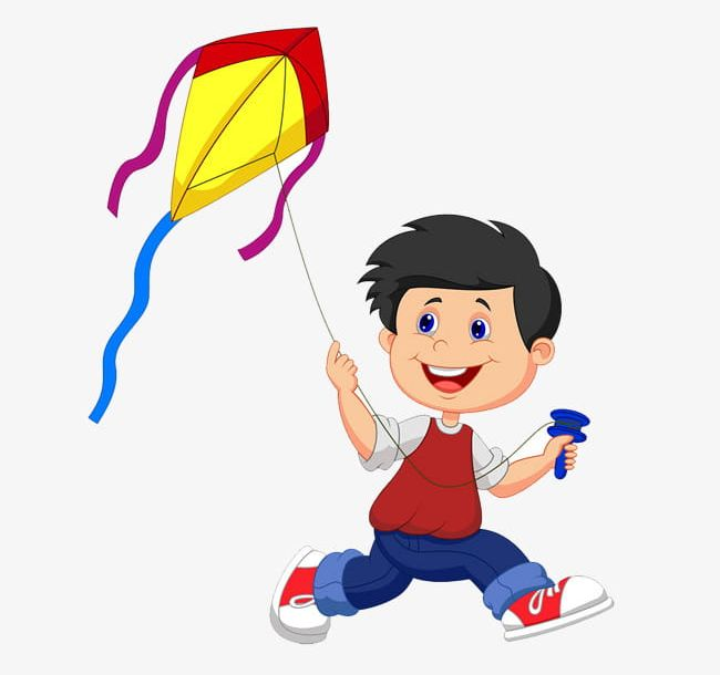 Free clipart kite flying png library Small People Flying Kite Material Free To Pull PNG, Clipart, Fly ... png library