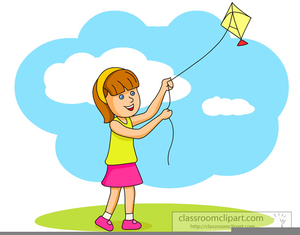 Free clipart kite flying. Kites images at clker