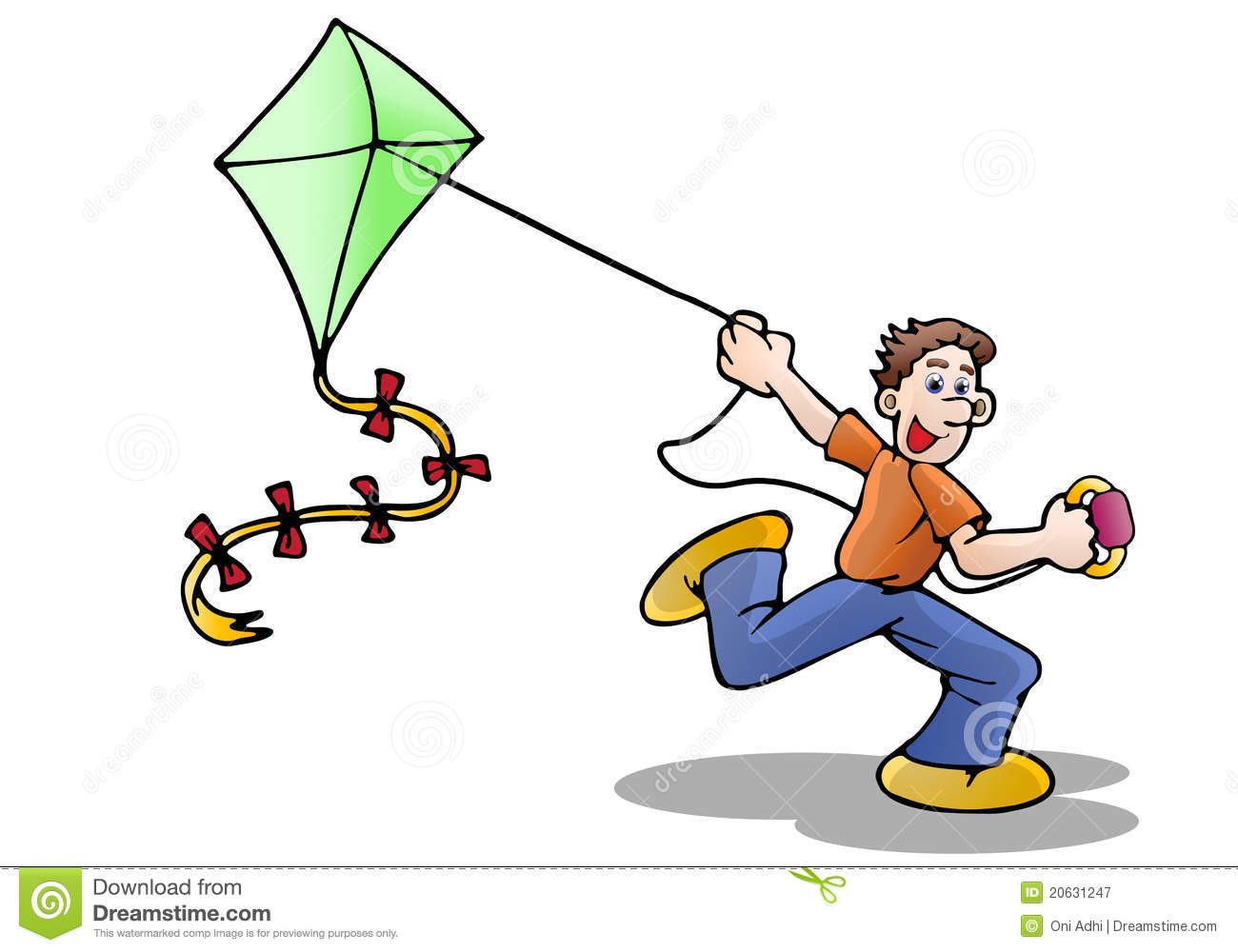 Download best on . Free clipart kite flying