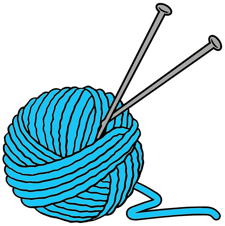 Free clipart knitting needles. Download best