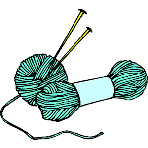 Knitting and crocheting clipart jpg KNITTING NEEDLES CLIP ART | Free Knitting Projects | Yarn stamps and ... jpg