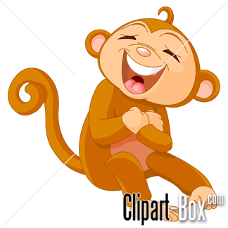 Free clipart laughing vector transparent download CLIPART LAUGHING MONKEY | Royalty free vector design vector transparent download