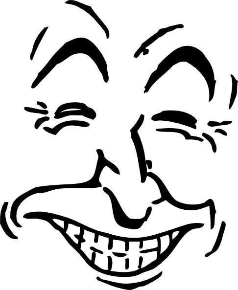 Free clipart laughing face picture stock Laughing Face clip art Free vector in Open office drawing svg ... picture stock