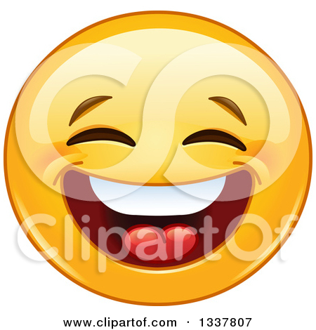 Free clipart laughing face vector transparent stock Royalty-Free (RF) Laughing Clipart, Illustrations, Vector Graphics #1 vector transparent stock