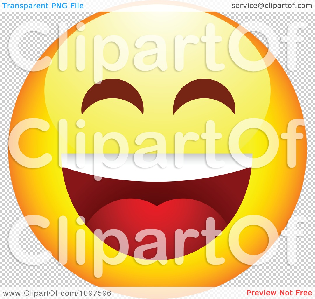 Free clipart laughing face svg black and white library Clipart Laughing Yellow Emoticon Smiley Face - Royalty Free Vector ... svg black and white library