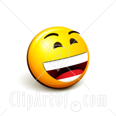 Free clipart laughing face vector freeuse library Laughing Smiley Clipart - Clipart Kid vector freeuse library
