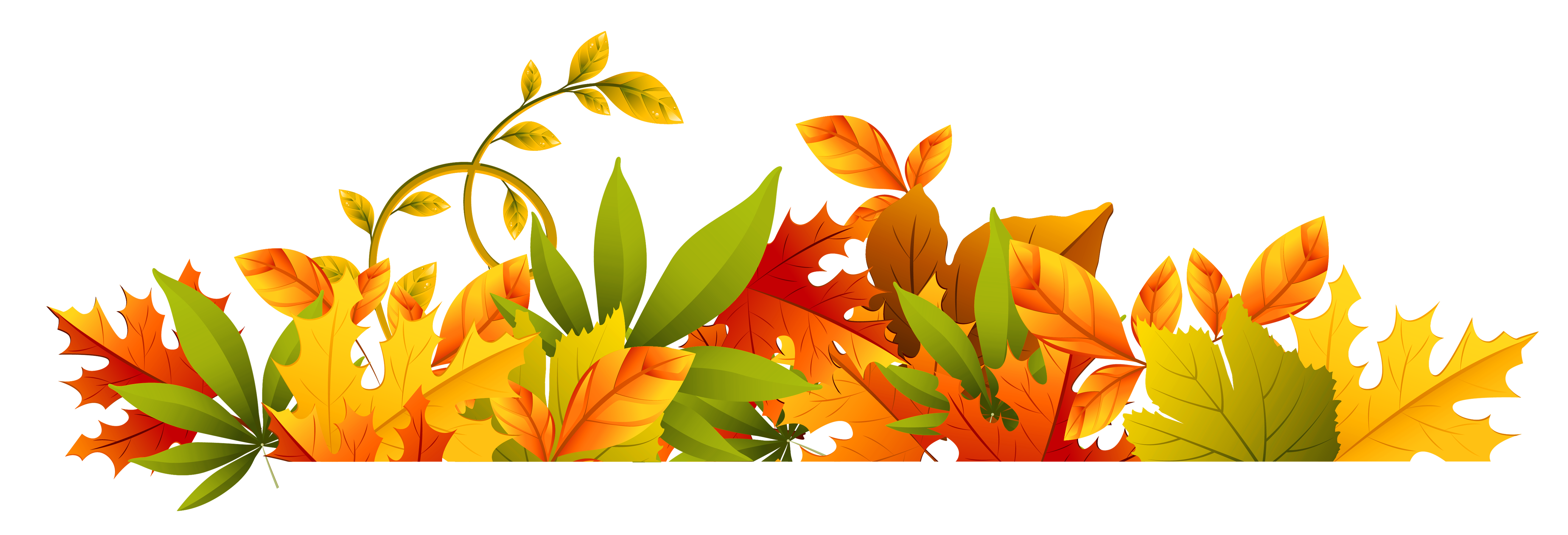Free clipart leaves border. Autumn download best on