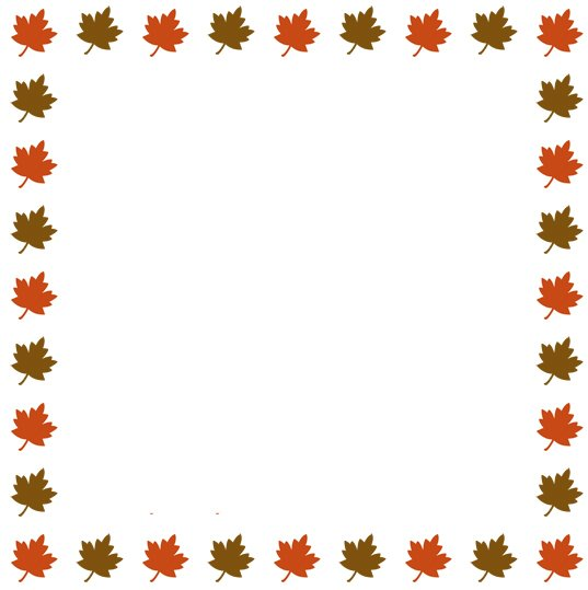 clip art clipartlook. Free clipart leaves border