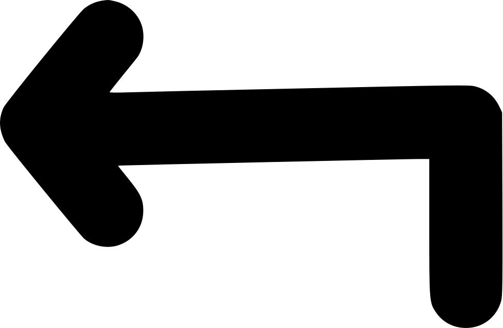 Free clipart left arrow download Turn Left Arrow Svg Png Icon Free Download (#440149 ... download