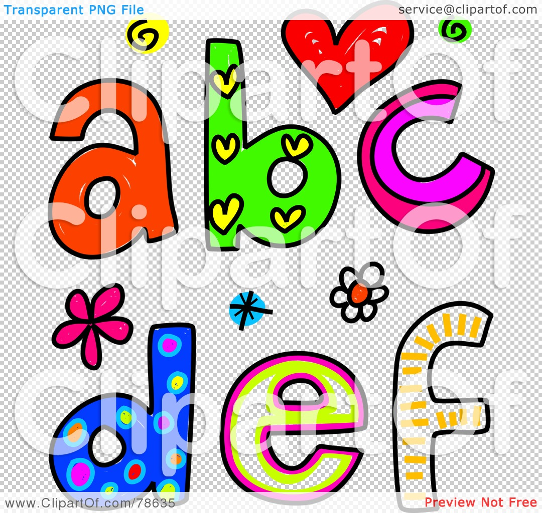 Free clipart letter s clip freeuse Royalty-Free (RF) Clipart Illustration of Colorful Letters A, B, C ... clip freeuse