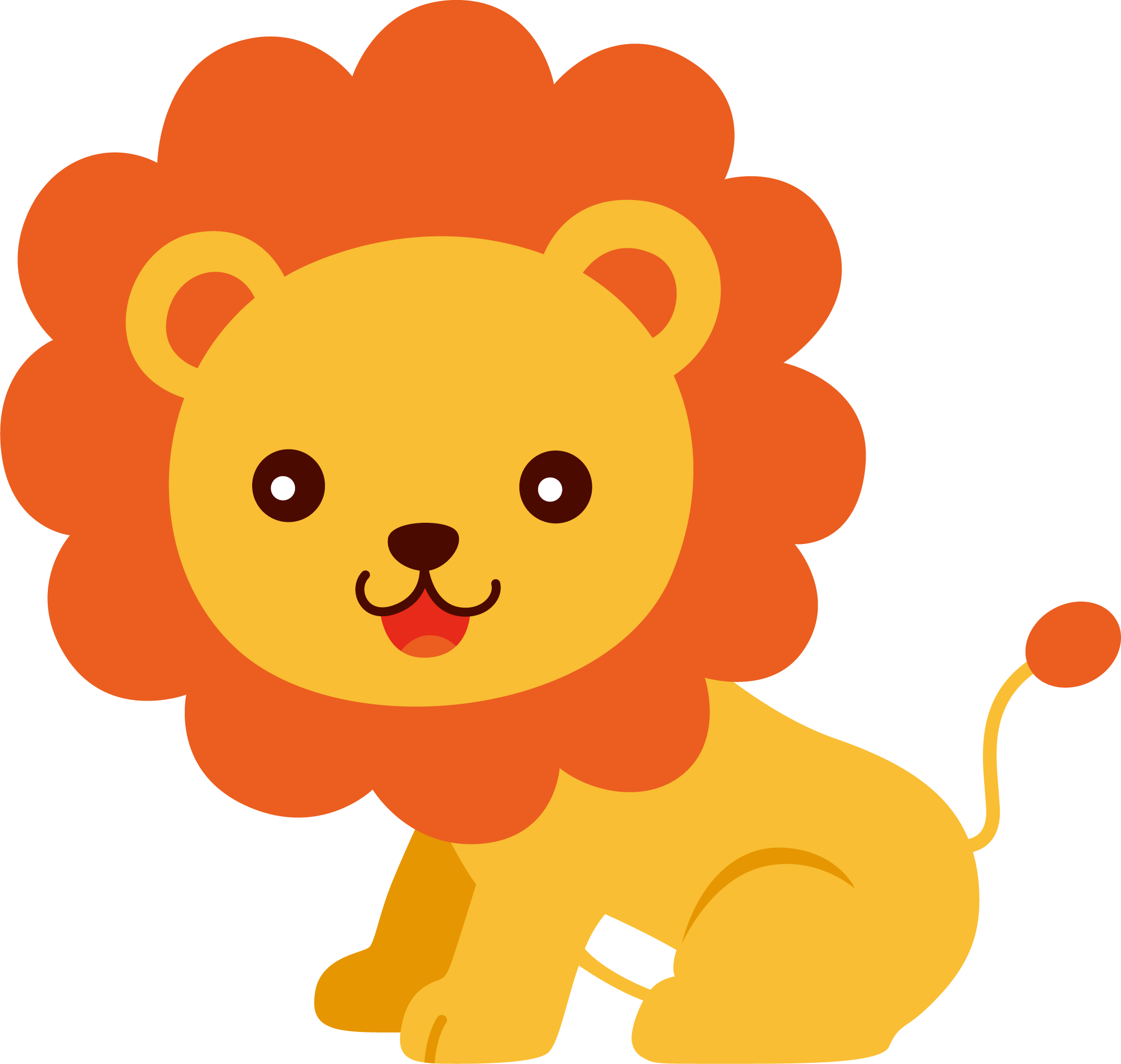 For download images . Free clipart lion