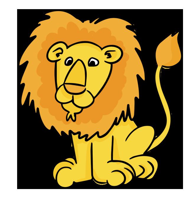 Hd lion clipart png transparent download cartoon male lion clip art | Cheryl\'s Clipart | Lion clipart, Clip ... png transparent download