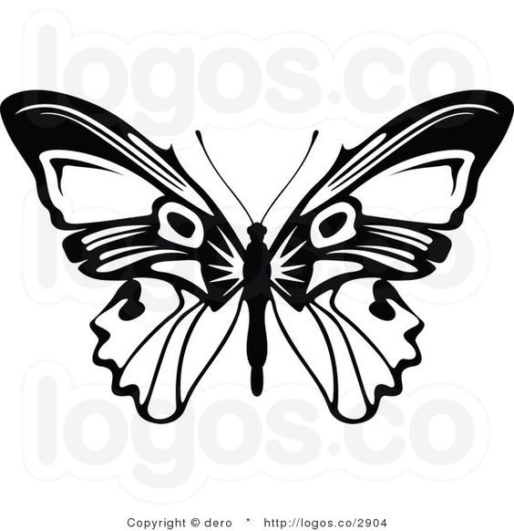Free clipart logo creator vector library library Best ideas about Butterfly Logo, White Butterfly and 600 620 on ... vector library library