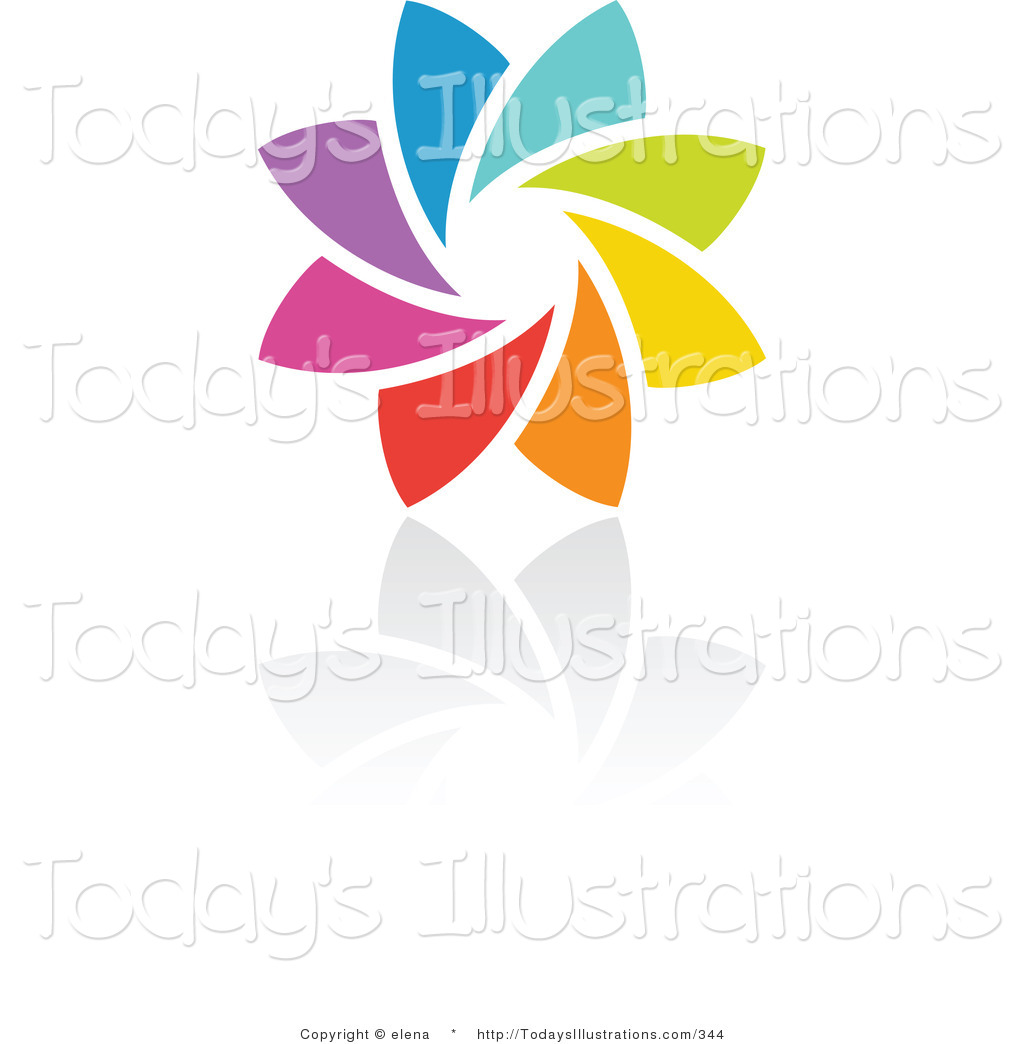 Free clipart logo creator picture freeuse stock Royalty Free Stock New Designs of Rainbow Logos picture freeuse stock
