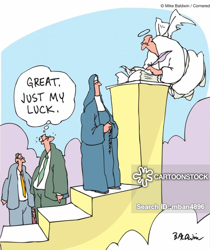 Free clipart st mad dog at the pearly gates png Pearly Gate Cartoons and Comics - funny pictures from CartoonStock png