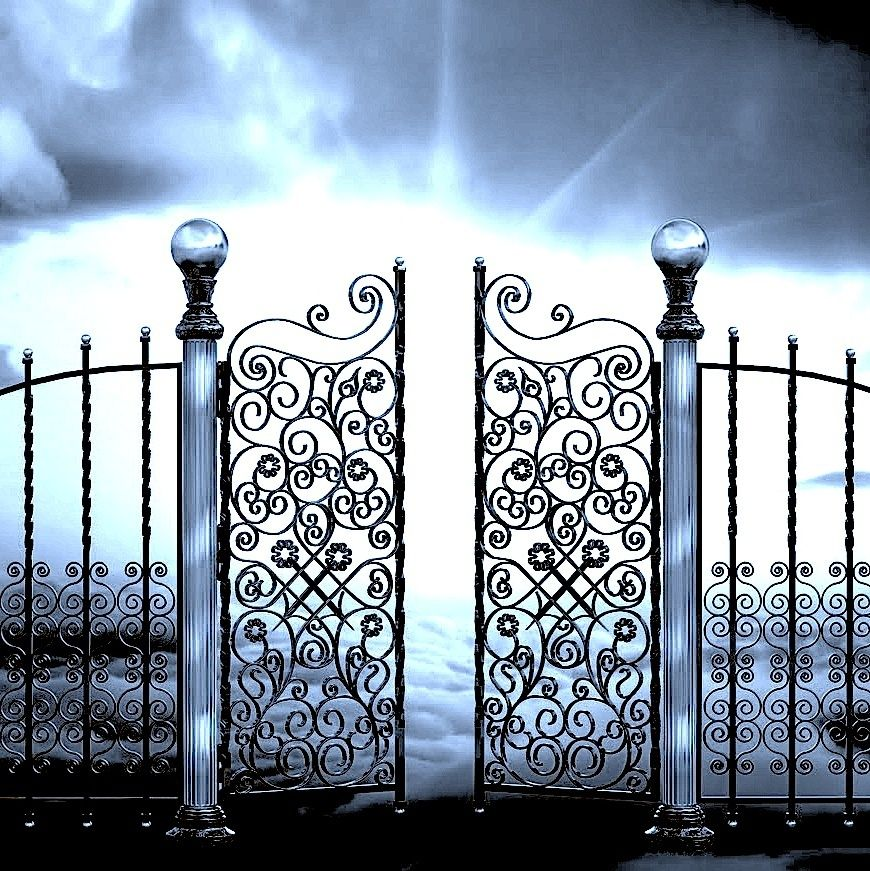 Free clipart mad dog at the pearly gates clip art Pearly Gates of Heaven | The Pearly Gates image | Heaven | Heaven ... clip art