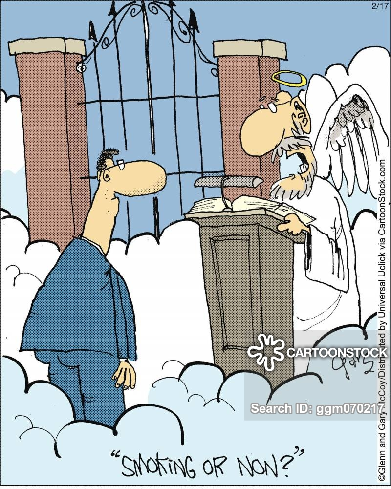 Free clipart st mad dog at the pearly gates
