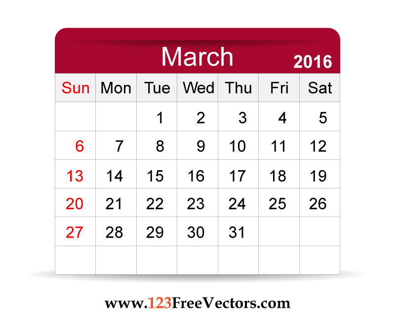 Free clipart march calendar vector royalty free march 2017 calendar clipart | Calendar 2017 vector royalty free