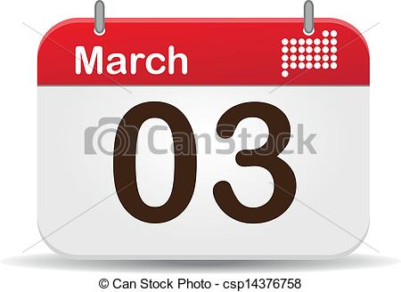 Free clipart march calendar graphic freeuse download Clipart Vector of Calendar - 03 March Calendar,US National Anthem ... graphic freeuse download