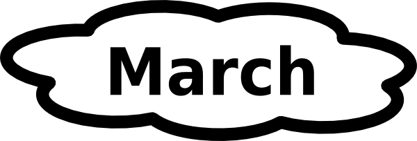 Free clipart march calendar banner transparent March Clip Art – Gclipart.com banner transparent